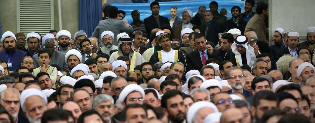 آية-الله-خامنئي-استقبال-المشاركين-في-المؤتمر-الدولي-للوحدة-الاسلامية-ijtihadnet