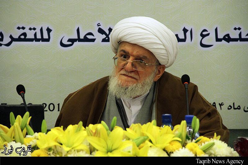 اجتماع-المجلس-الاعلى-للمجمع-العالمي-للتقريب-بين-المذاهب-الاسلامية--تسخيري1