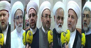 علماء الدين في لبنان وفلسطين