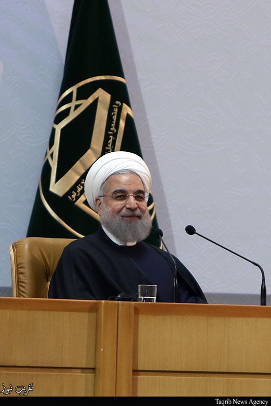 افتتاح-المؤتمر-الدولي-التاسع-والعشرين-للوحدة-الاسلامية-الرئيس-روحاني