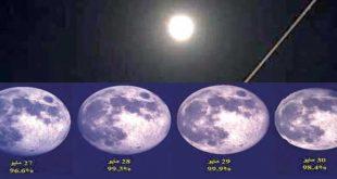اكتمال-القمر-في-رمضان-قبل-منتصف-الشهر