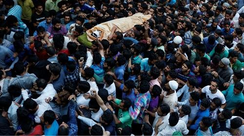 الاحتجاجات في الهند..