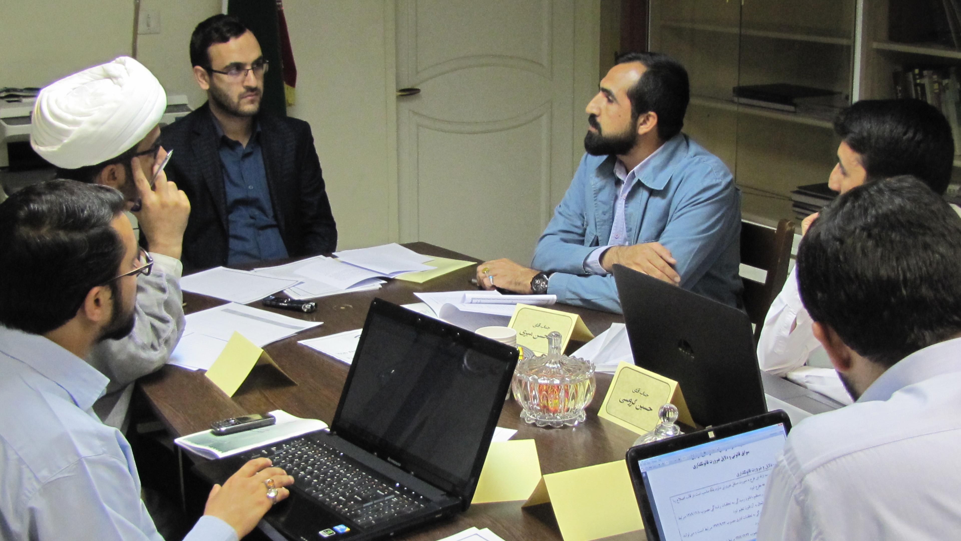 التقنين الثقافي عنوان ورشة-بمركز الدراسات الإسلامية