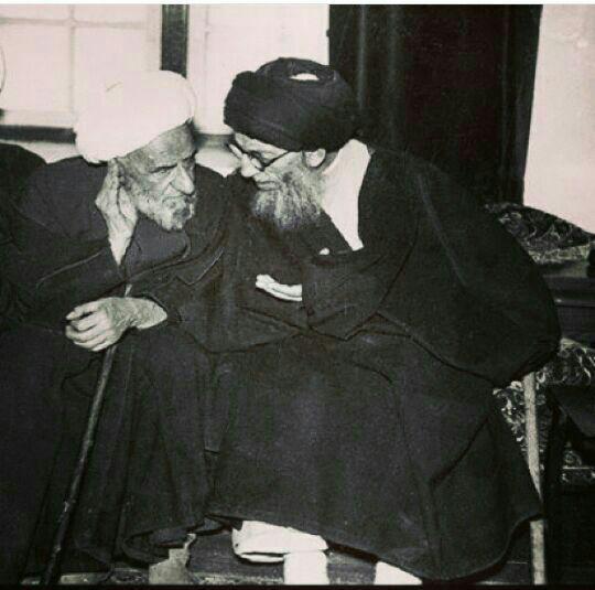 الشيخ-حسين-الحلي والسيد الحكيمijtihadnet.net.jpg