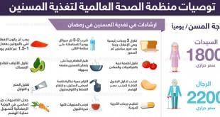 تغذية المسنين