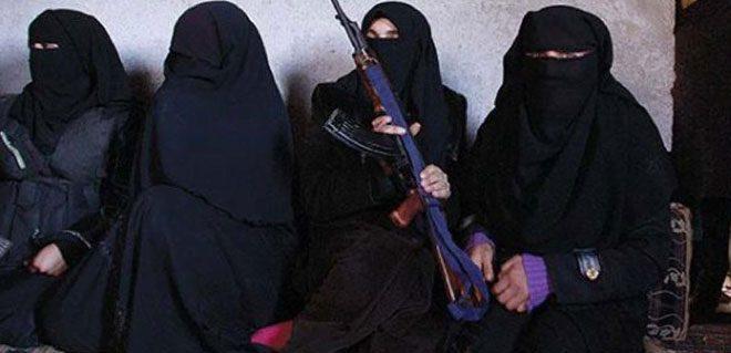 """الجهاديات في """"داعش"""""""