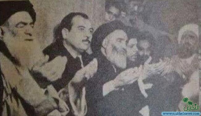 صورة نادرة تجمع بين السيد السيستاني والخوئي والصدر