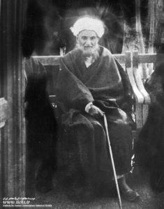 الشيخ عبدالكريم الحائري في السنوات الأخيرة من عمره الشريف