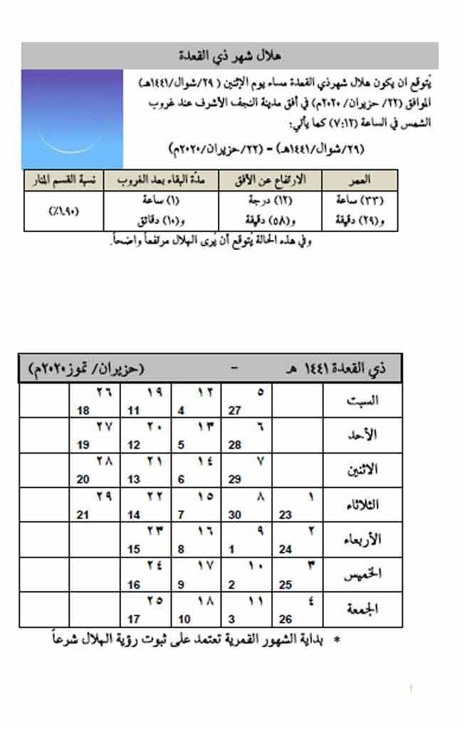 تعليم أسماء الأشهر الهجرية 4