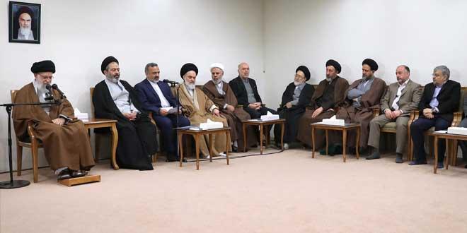 الإمام الخامنئي: صمود الشعب أمام أمريكا يشكل حقيقة جذابة للعالم