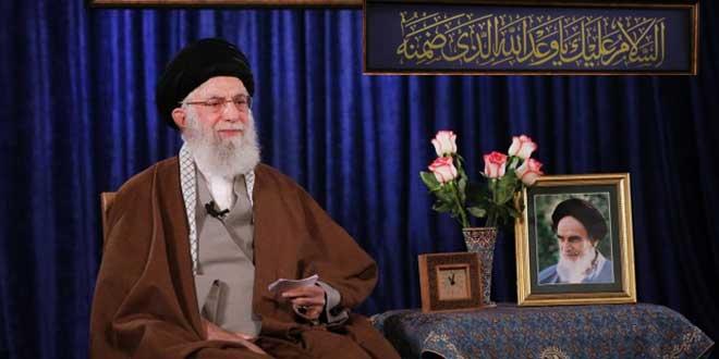 """الإمام الخامنئي: كورونا يعد امتحانا للحكومات والشعوب.. أمة النبي محمد """"ص"""" يجب ان لا يتغلب عليها اليأس"""