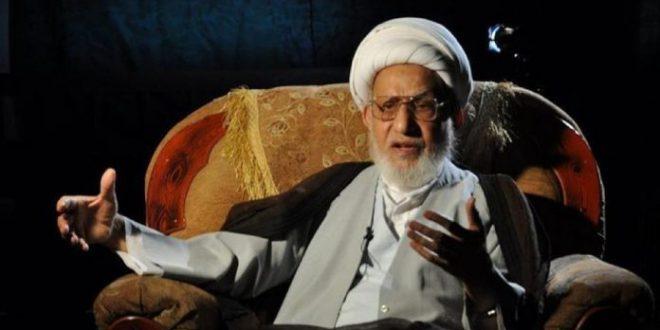 توفي آية الله الشيخ الناصري عن عمر ناهز 90 عامًا