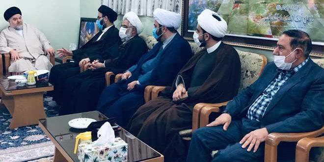 حجة الإسلام الشهرستاني: هناك علاقة وطيدة وجيدة بين الإمام الخامنئي وآية الله السيستاني