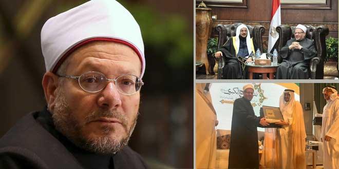 مفتي مصر يلحق بكبار علماء السعودية في موقفها من الإخوان
