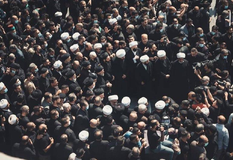 تشييع-السيد-محمد-سعيد-الحكيم-في-كربلاء