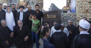 المرجع السيستاني يوفد ممثله لزيارة والد الشهداء الخمسة