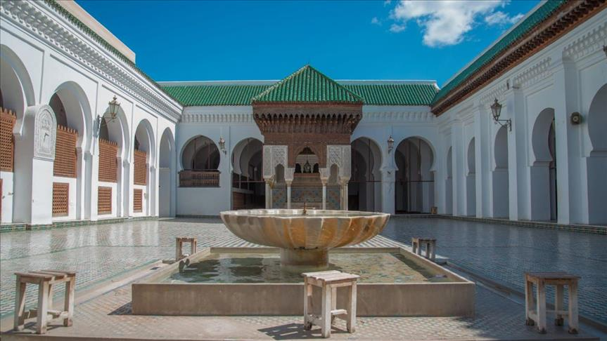 جامعة القرويين في فاس؛ بنتها فاطمة الفهرية في القرن التاسع الميلادي