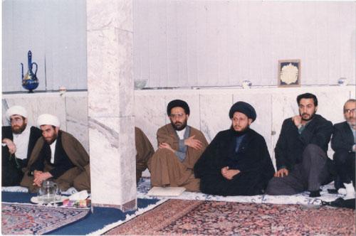 السيد كمال الحيدري الشيخ حسن الجواهري الشيخ باقر الإيرواني