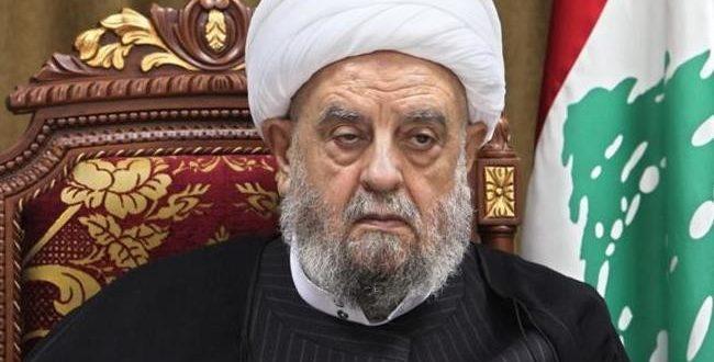 الشیخ عبد الأمير قبلان: ننتظر الامام المهدي لإنقاذ البشرية من الظلم العالمي