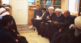 أعلام وباحثون يتداولون في المركز الحسيني للدراسات واقع الأمة