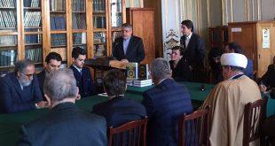 افتتاح مركز دراسات التراث الايراني والاسلامي في موسكو